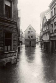 Hochwasser in Wuppertal, 24.November 1890